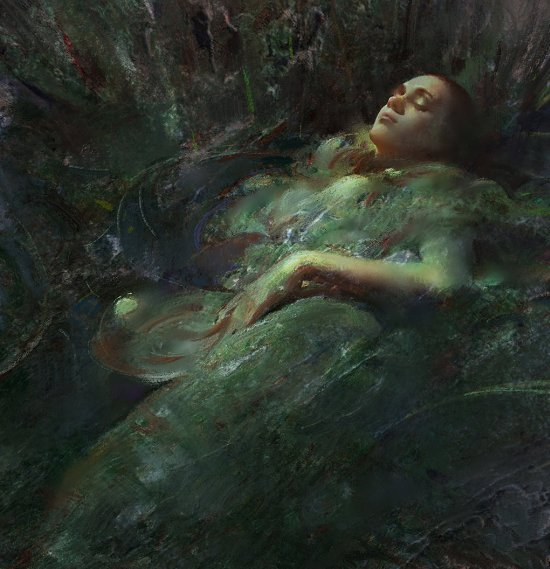 Wangjie Li artstation arte ilustrações mulheres fantasia ficção científica games beleza