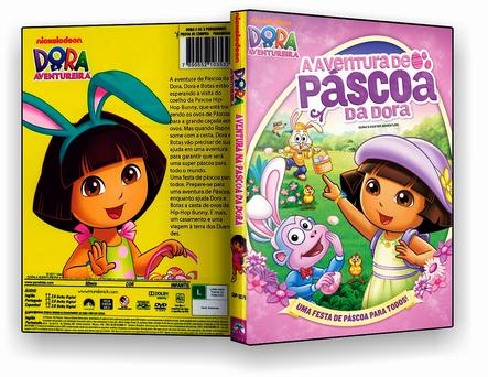 CAPA DVD – Dora – A Aventura De Páscoa – ISO