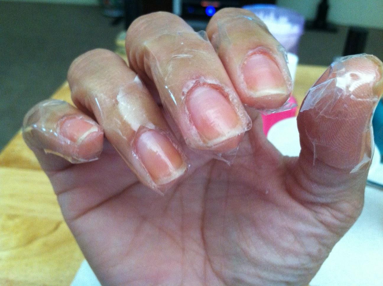 wan life to live: nail art FAIL