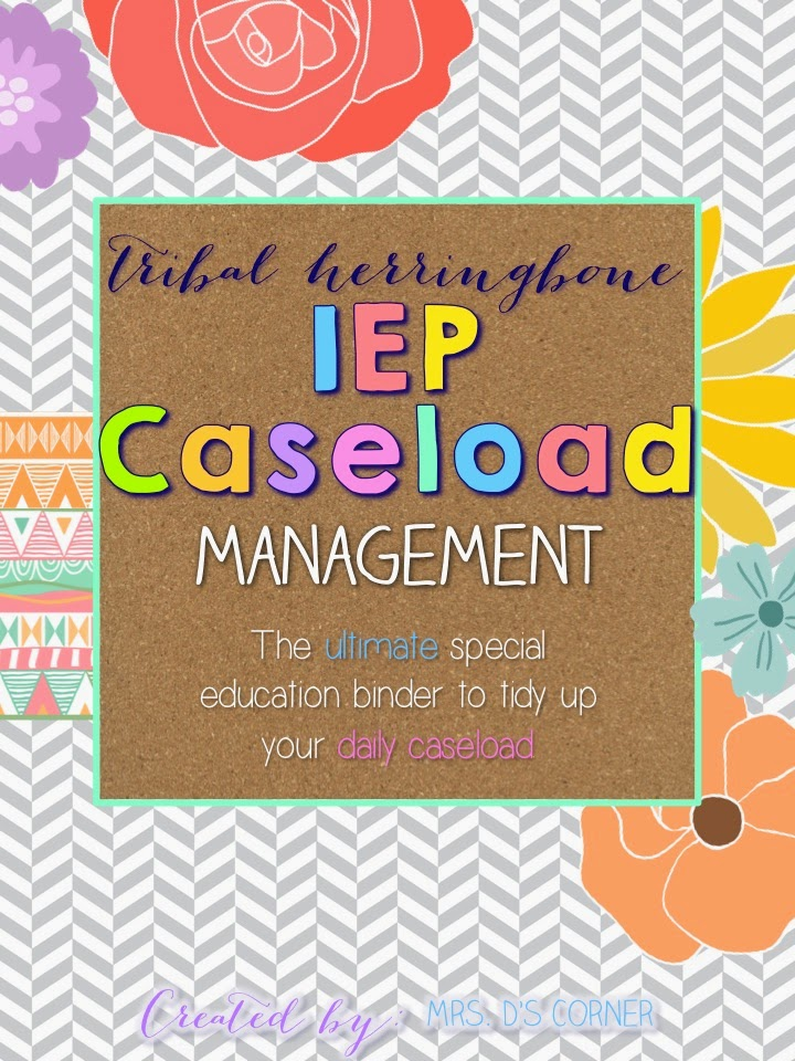 http://www.teacherspayteachers.com/Product/IEP-Caseload-Management-Tribal-Ultimate-IEP-Special-Education-Binder-1272841