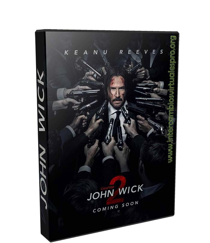 John Wick 2 poster box cover