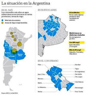 CONTAMINADOS EN PROVINCIA DE BUENOS AIRES, MENDOZA, LA PAMPA, SAN LUIS, SAN JUAN