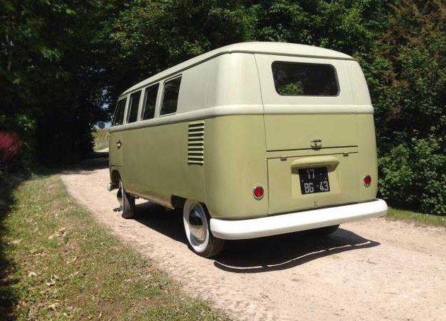 1959 VW Bus Mango Green | VW Bus