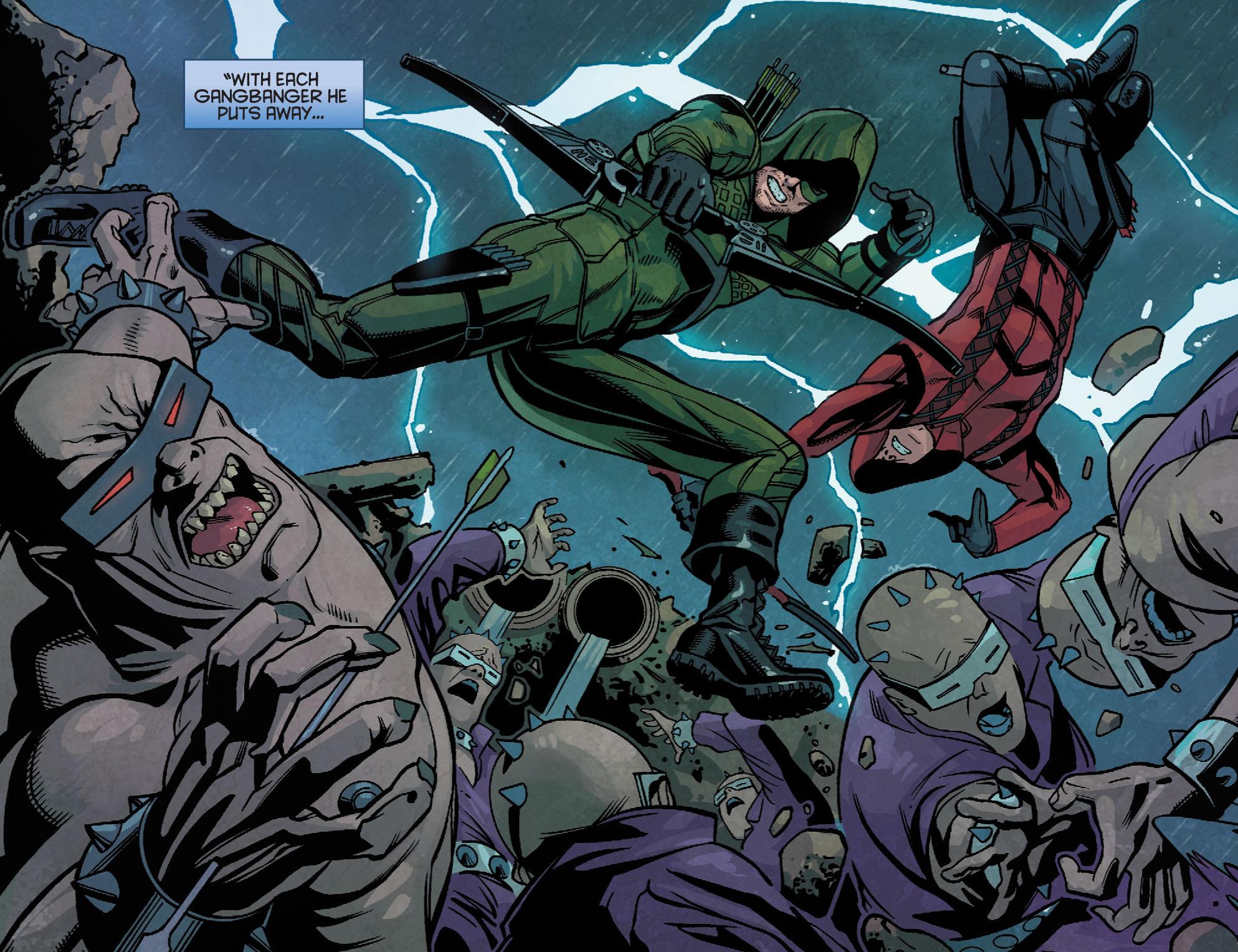 Read online Arrow: Season 2.5 [I] comic -  Issue #24 - 10