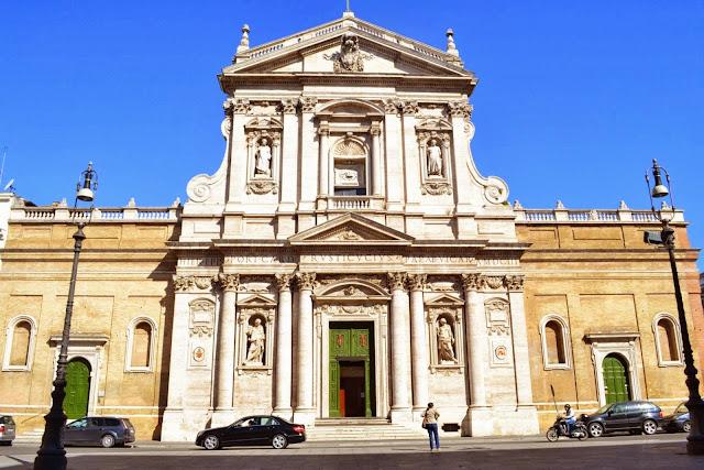 Santa Susana Church - Rome, Italy
