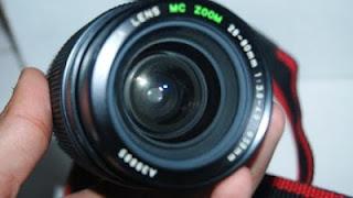 Lensa Yashica 28-80mm depan
