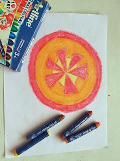 artline, crayons, art