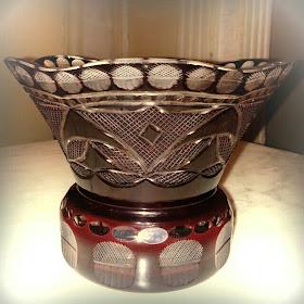 Jual Antik The Real Antique Japanese Satsuma Kiriko Glass Vase
