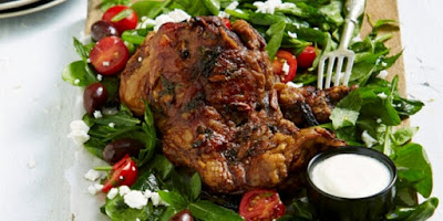Greek Lamb Shoulder