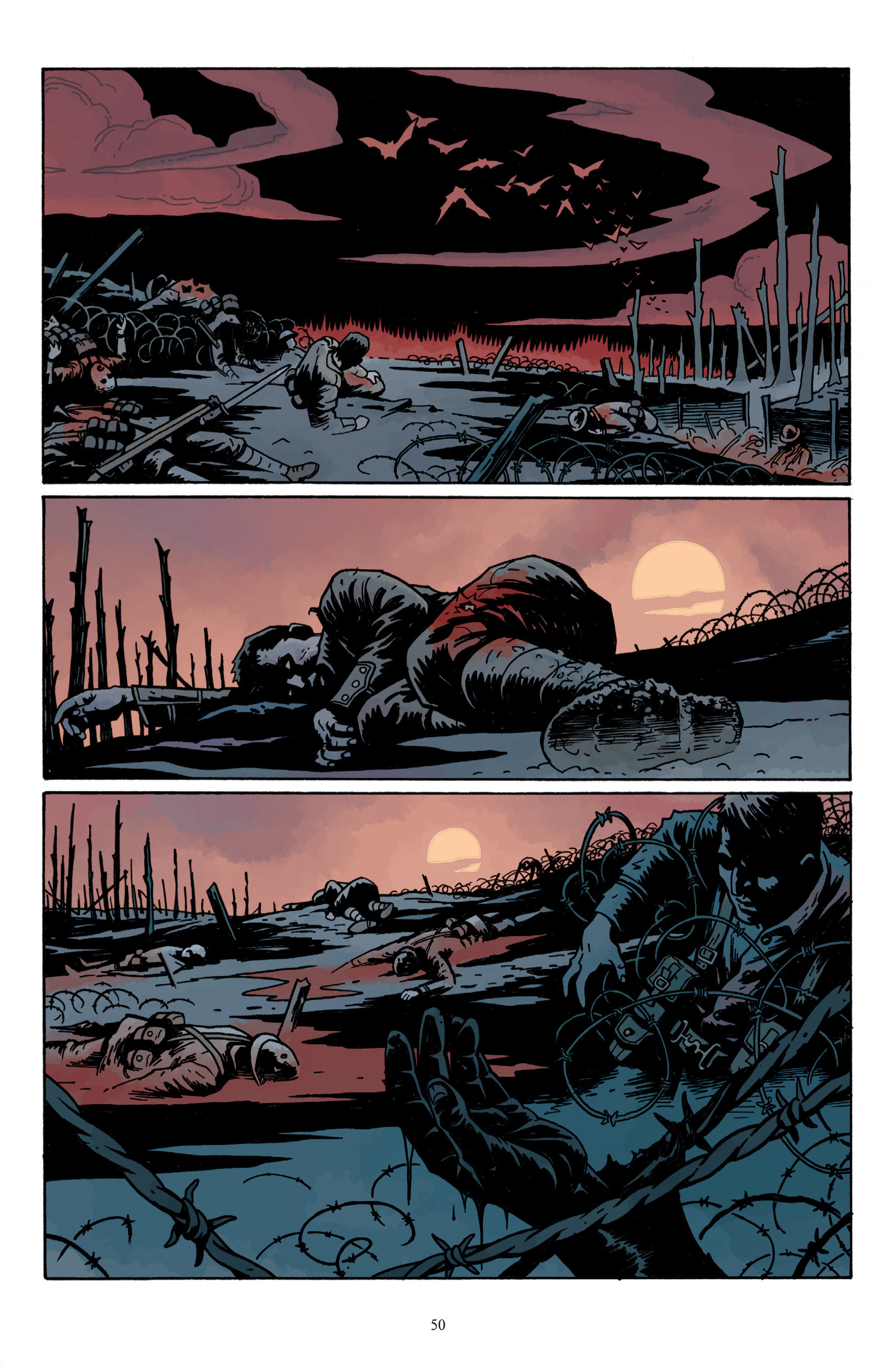 Read online Baltimore: The Plague Ships comic -  Issue # TPB - 52