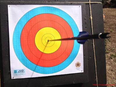 diana para tiro con arco a distancias cortas