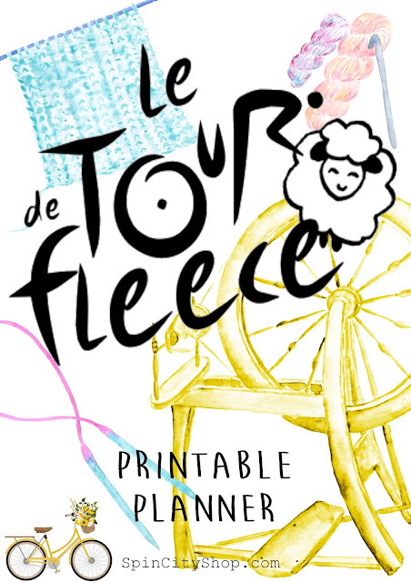 tour de fleece planner