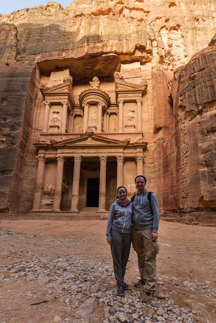 El Tesoro de Petra, Jordania