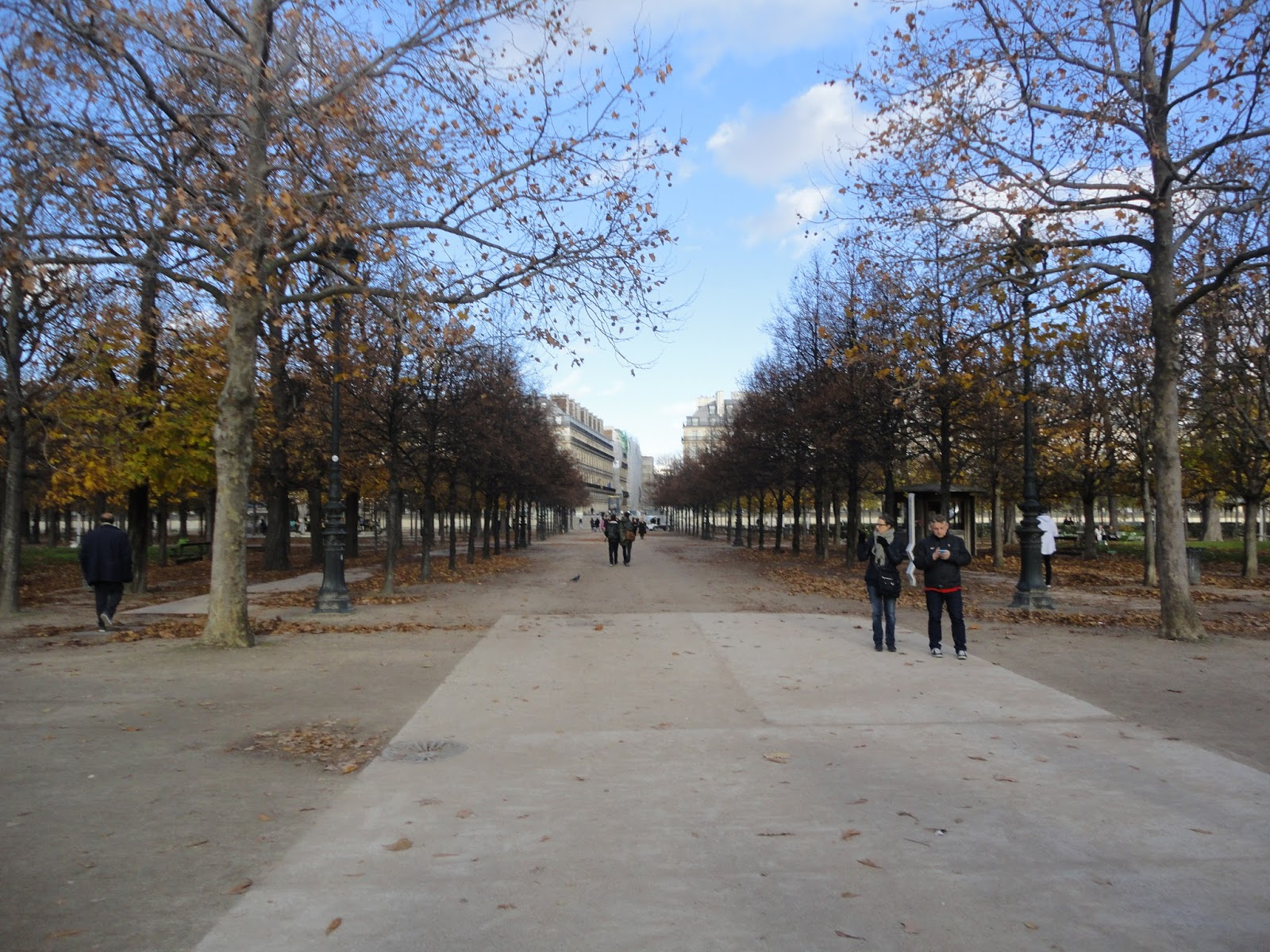 Desbastando La Piedra Au Jardin Des Tuileries Paris France