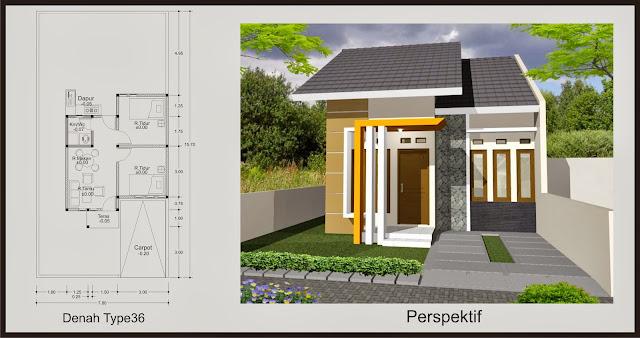 Model Desain Rumah Idaman Minimalis Type 36 Terbaru Inspirasi