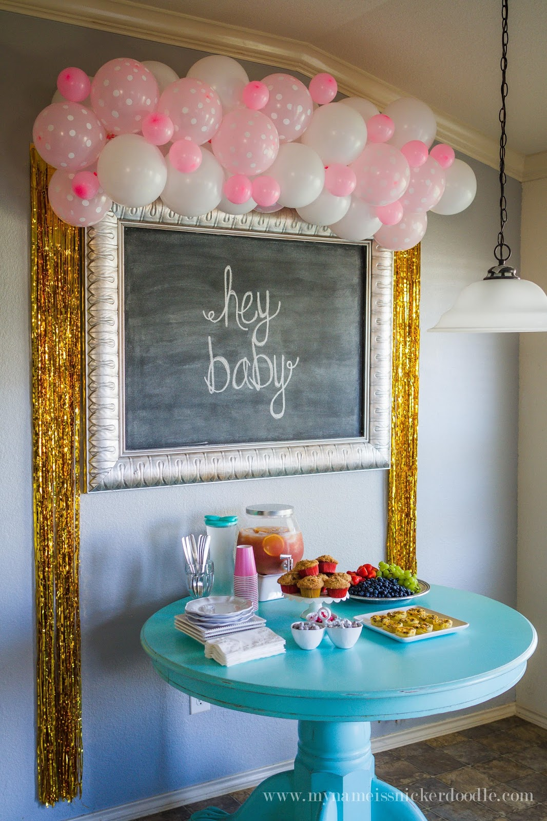 Here Is A Super Adorable Idea For Baby Shower Or Brunch Party Decorations
