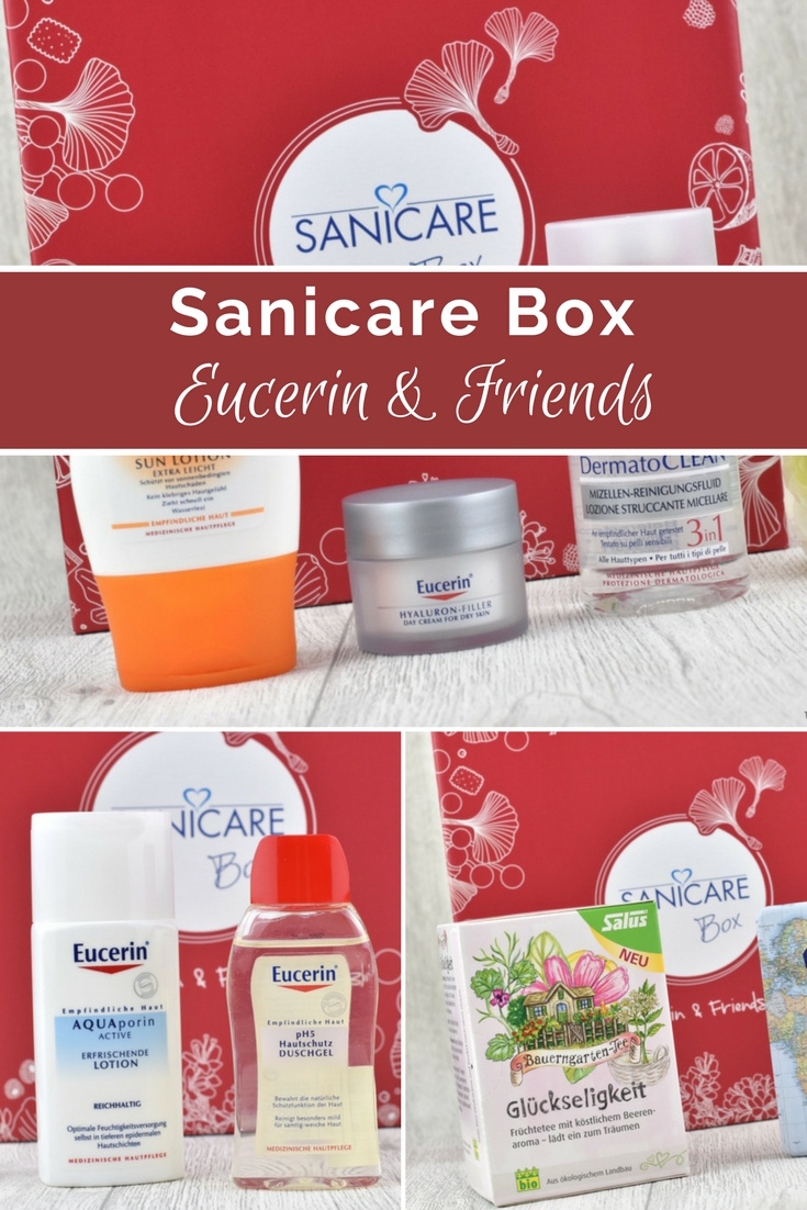 Sanicare Box Januar 2018 - Eucerin & Friends - Unboxing und Inhalt