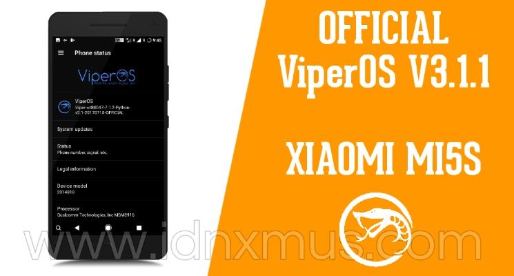 ROM ViperOS V3.1.1 MI5S