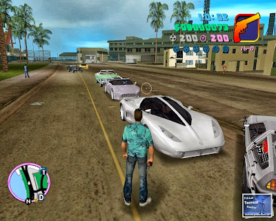 GTA Vice City Back To The Future Hill Valley Game