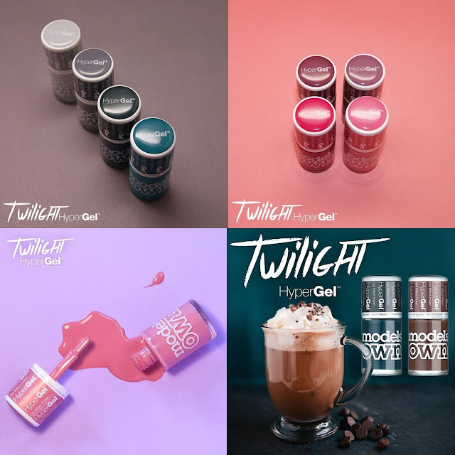 Models Own Twilight HyperGel Collection, photos by @modelsownofficial