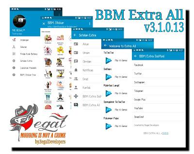 Download Dual BBM Mod Clone Versi 3.1.0.13 Apk Terbaru Untuk Android