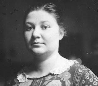 La ajedrecista Vera Menchik