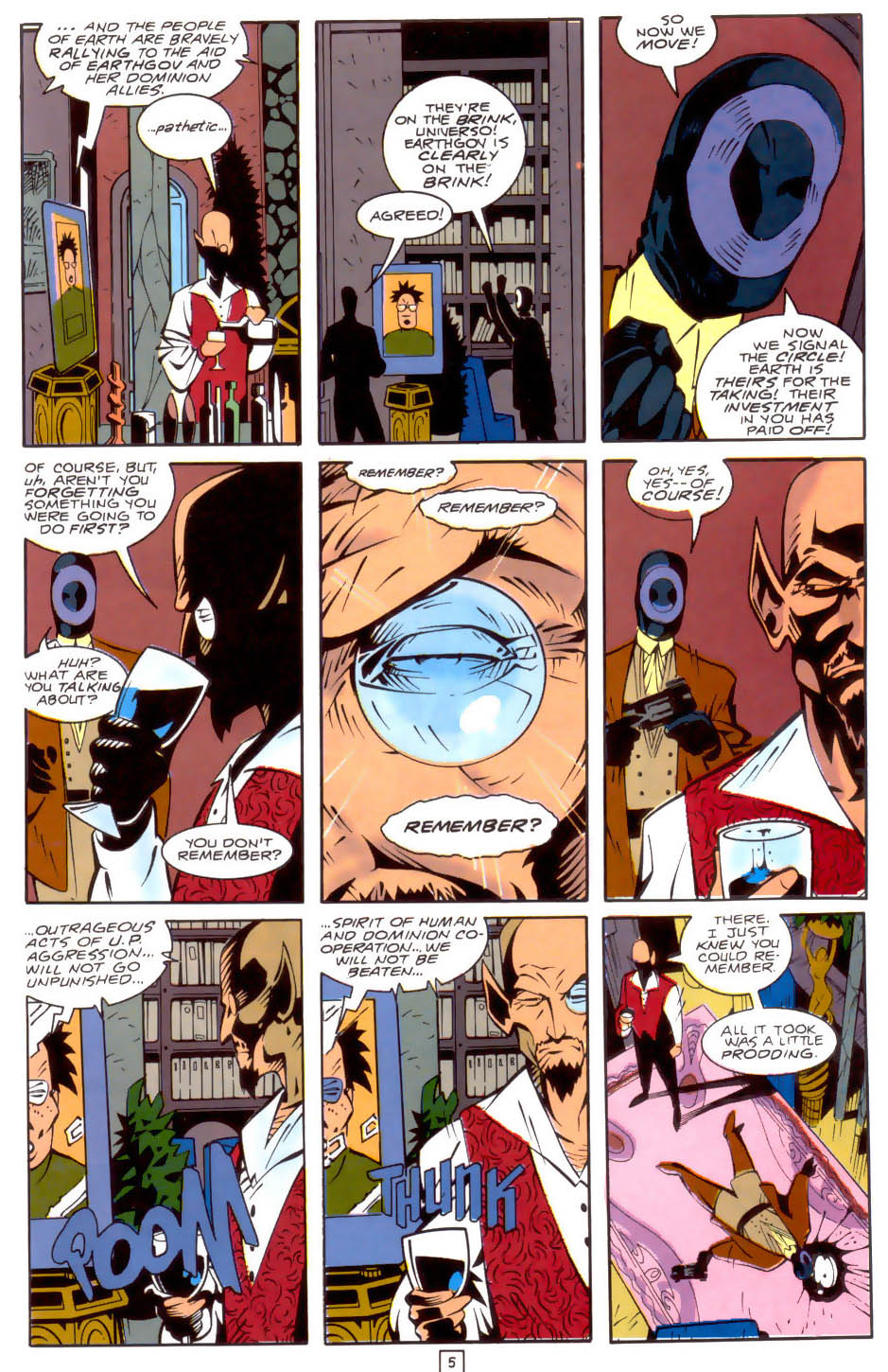 Legion of Super-Heroes (1989) 34 Page 5