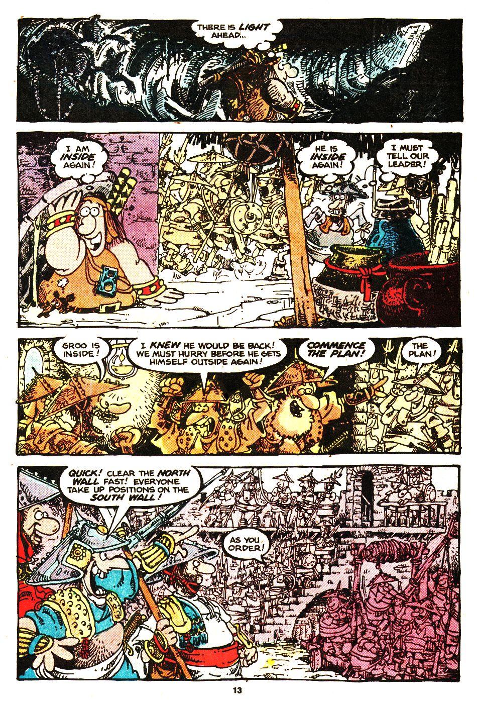 Read online Sergio Aragonés Groo the Wanderer comic -  Issue #20 - 13