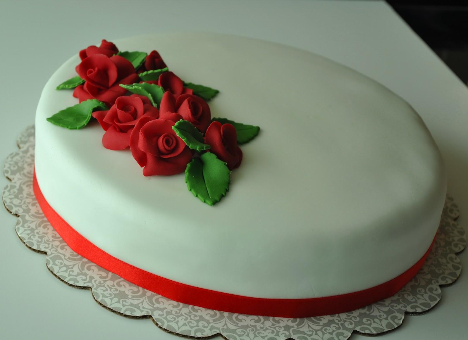 Inspired Creations Wedding Anniversary Cake