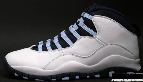 d849131d4f4c91 Air Jordan 10 Retro (06 11 2005) 310805-141 White Obsidian-Ice Blue-Varsity  Red  125.00 (limited release)
