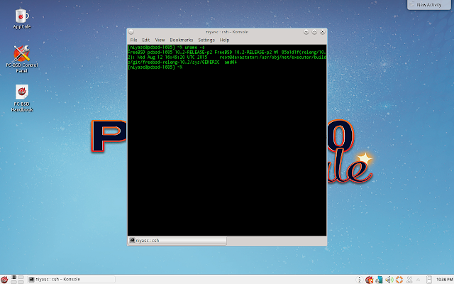 Konsole in PC-BSD