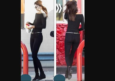 Kendall Jenner echandole gasolina a su SUV