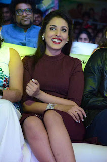 Actress Madhu Shalini Pictures in Short Dress at Oopiri Audio Launch  0032.JPG