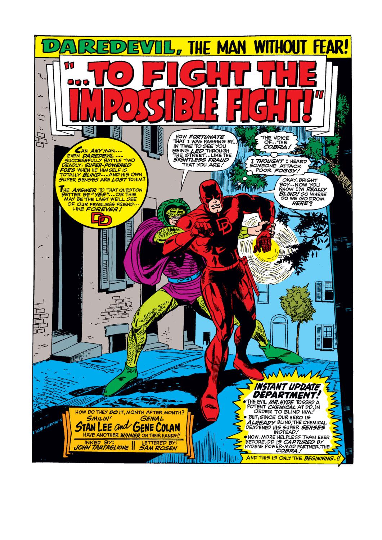 Daredevil (1964) 32 Page 1