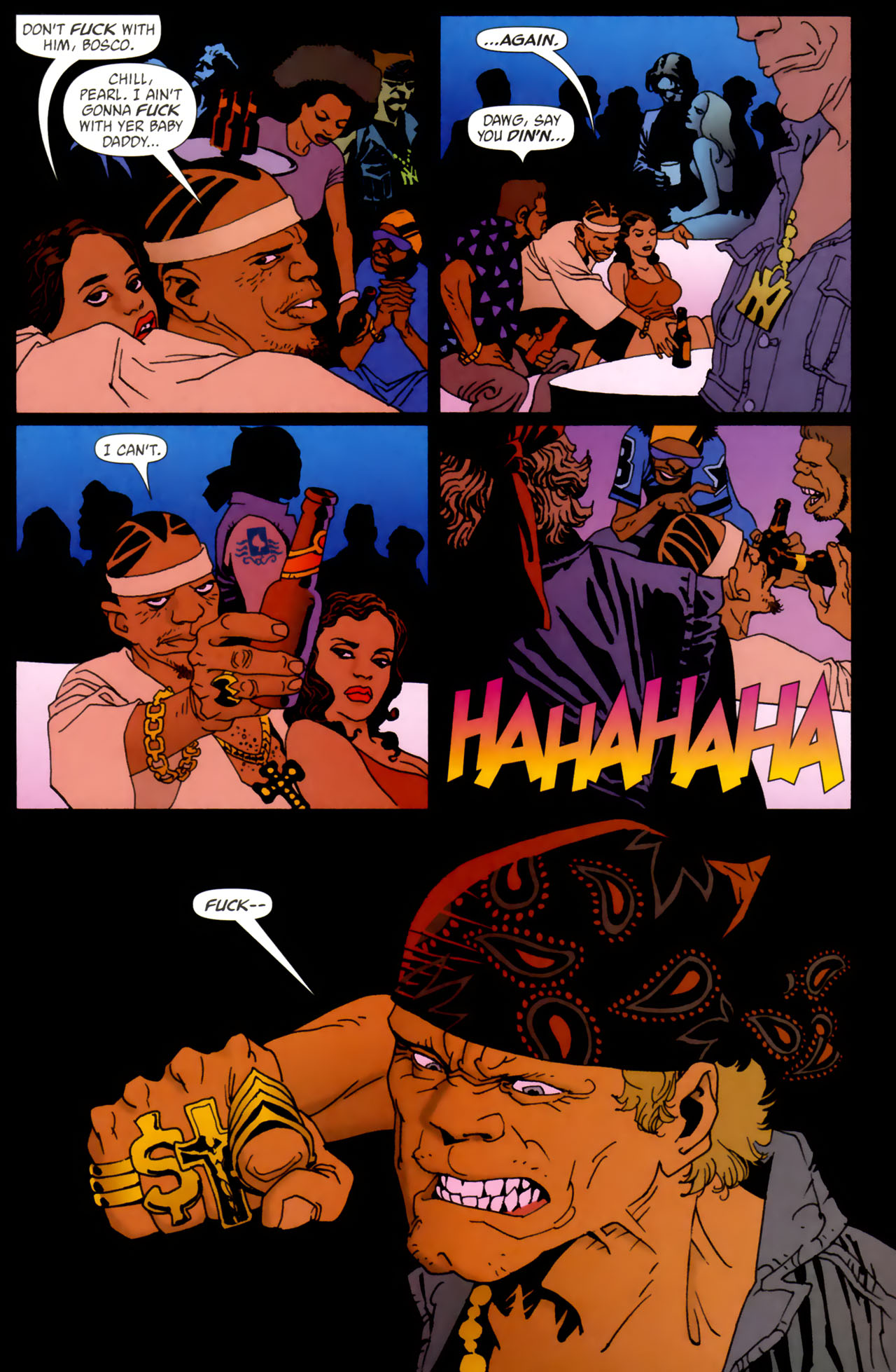Read online 100 Bullets comic -  Issue #61 - 21