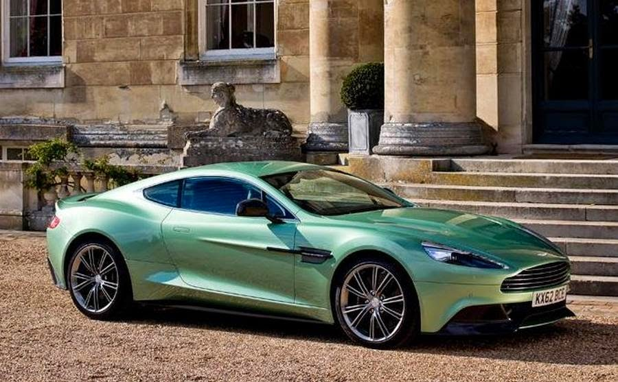 Aston Martin is a car brand name famous - Computer And