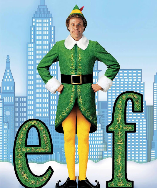 Movie poster for elf the movie