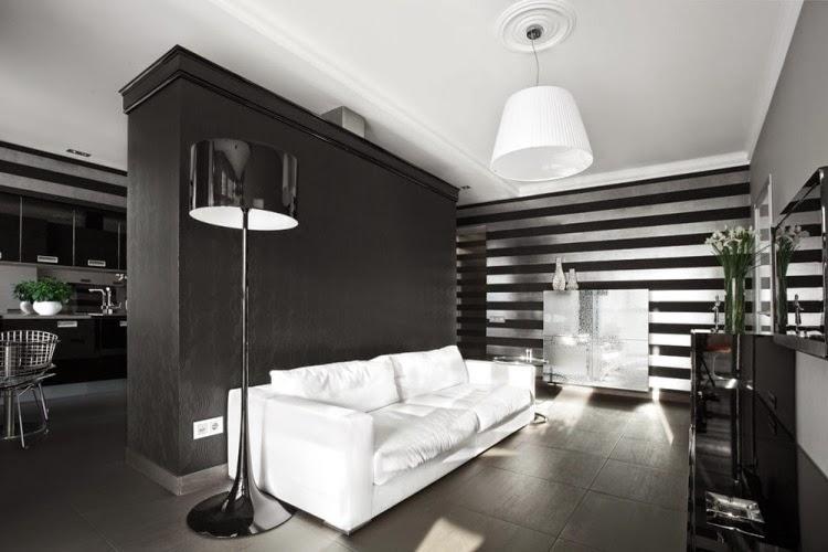 Sala moderna pequeña