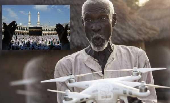 Berkat Drone Pria Ini Berhasil Mewujudkan Mimpinya Untuk Pergi Haji