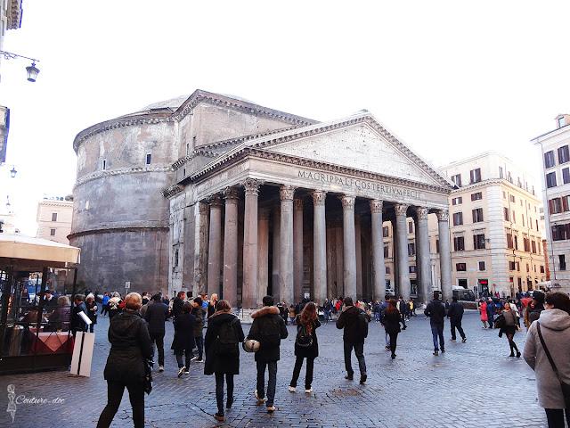 świątynia, panteon, rzym, zabytki,