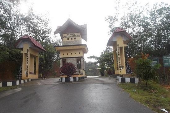 Riau yang berada di tempat Hutan Lindung Bukit Betabuh Air Terjun Guruh Gemurai Yang Deras