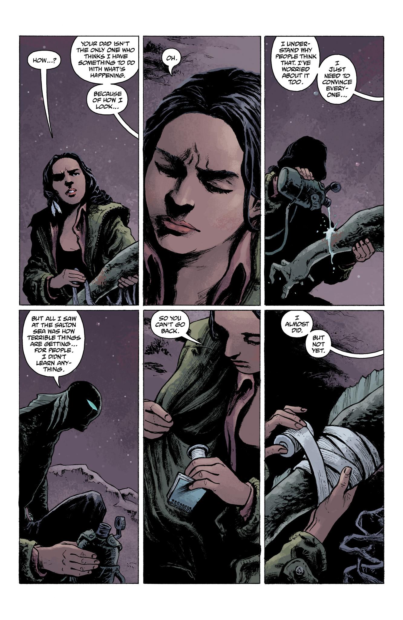Read online Abe Sapien comic -  Issue #6 - 16