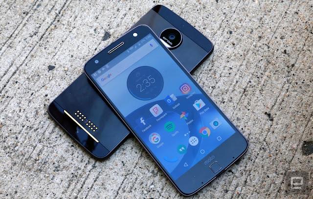 Update Android Oreo Motorola Moto Z dan Moto Z2 Force
