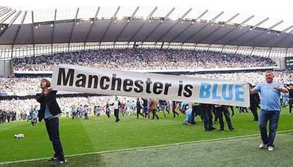 Manchester City Menang Besar