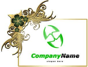 تحميل شعار جاروف مزدوج مفتوح للفوتوشوب, Double shovel psd logo design download