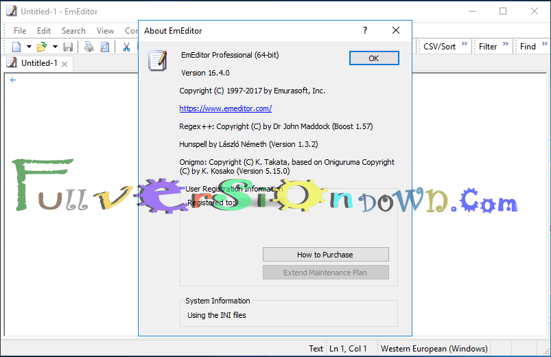 Emurasoft EmEditor Professional Full Patch