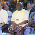 NAN-PHOTO: President Emmanuel Macron of France visits Fela's new African Shrine in Lagos