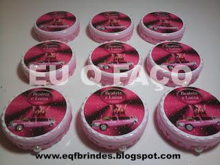 limousine rosa, mint to be, latinha, lembrancinha, brindes, festa, personalizados, infantil