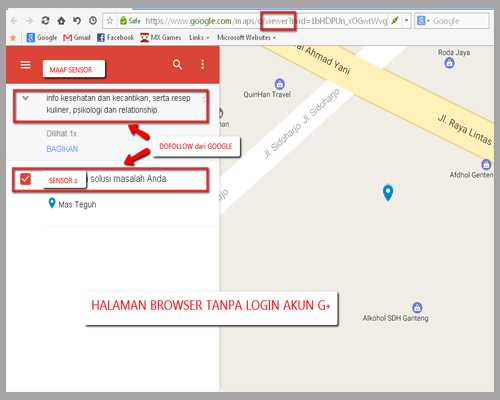 link dofollow google