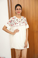Lavanya Tripathi in Summer Style Spicy Short White Dress at her Interview  Exclusive 300.JPG